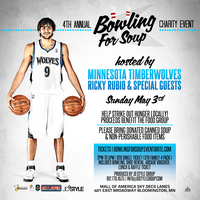 4th Annual Bowling for Soup Hosted by Ricky Rubio