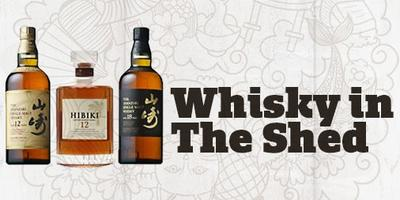 Whisky in The Shed