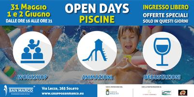 Open Days Piscine San Marco 2015