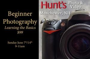 Beginner Photography- Manchester, NH Only