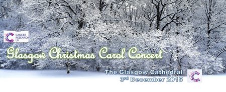 Glasgow Christmas Carol Concert for Cancer Research UK