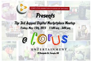 "CASO 3rd Annual ""Digital Marketplace Meetup"""