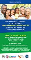 Faith Leaders Supporting Early Learning