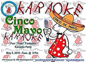 Cinco De Mayo Karaoke at The Wonderland