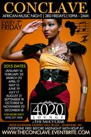 The Conclave - African Music Night {3rd Fridays} - May...