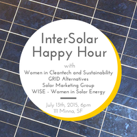 InterSolar Opening Happy Hour