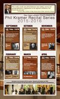 SEASON TICKETS: Phil Kramer Recital Series 2015-2016