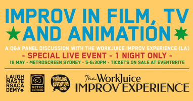 Improv in TV, Film & Animation: a Panel Discussion &...