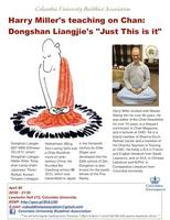 Apr 30 - Harry Miller's Lecture: Dongshan Liangjie's...