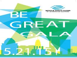 "BGCMB ""Be Great"" Gala"