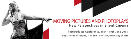 Moving Pictures and Photoplays: New Perspectives in...