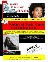 NATURAL HAIR CERTIFICATION (8hrs)