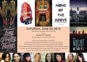 YA Debut Author Spotlight & Book Signing