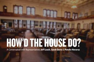 How'd the House Do? A Conversation About the 84th...
