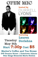 Open Mic / Spoken Word host Durrell Lyon feat. Lauren...
