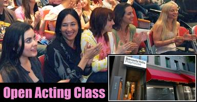 Free Open Class - Beverly Hills Playhouse Acting...