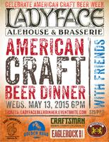 American Craft Beer Dinner