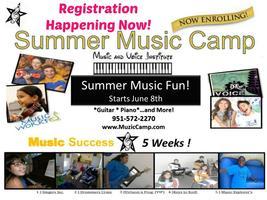 SUMMER MUSIC CAMP 2015 [Current Students Program]