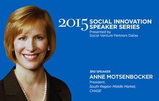 Social Innovation Speaker Series: Anne Motsenbocker