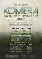 2nd Annual Komera Global Run Fundraiser