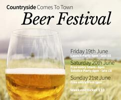 Countryside Comes To Town Beer Festival