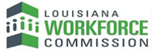 Louisiana Workforce Commission and community organizations logo