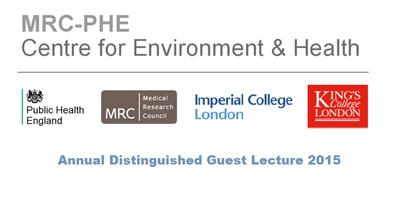MRC-PHE Centre Annual Distinguished Guest Lecture 2015