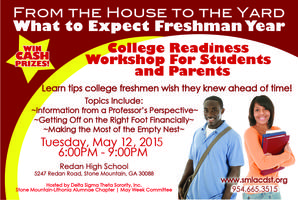 From the House to the Yard: What to expect Freshman...