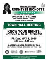 Town Hall Meeting - Know Your Rights: Housing and...