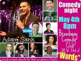"Comedy Night Fundraiser featuring Adam Sank from ""Last..."