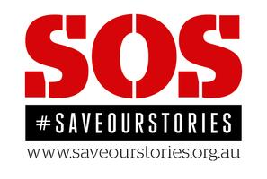 SOS: Save Our Stories campaign launch - Adelaide