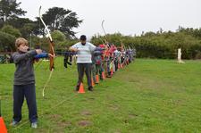 Golden Gate Junior Olympic Archery Development Club logo