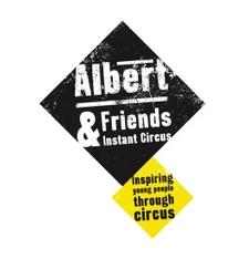 Albert & Friends Instant Circus logo