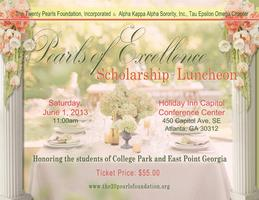 2013 Pearls of Excellence Scholarship Luncheon