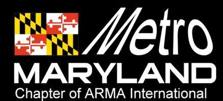 ARMA Metro Maryland May 13, 2015, Dinner Meeting