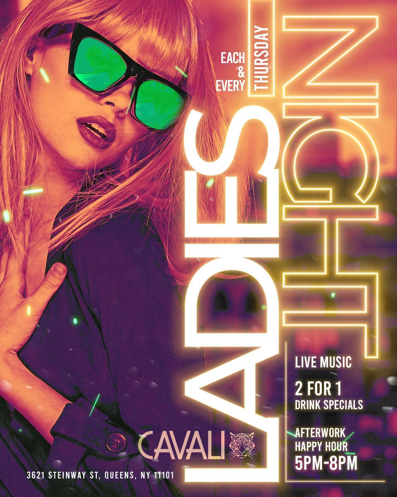 LADIES NIGHT THURSDAY  @ CAVALI NIGHTCLUB #GQEVENT