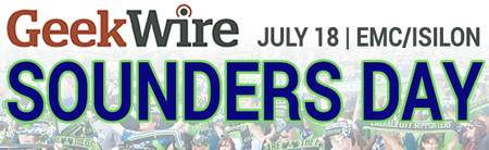 GeekWire Sounders Day 2015, presented by EMC/Isilon