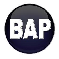 Black Arts Production Theatre (BAP) logo