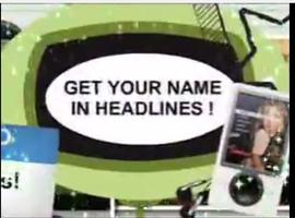 HOW TO DO YOUR OWN PR -- GET YOUR NAME IN HEADLINES IN...