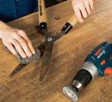 Maintain and Sharpen Your Garden Tools