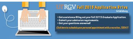 Meet with UTRGV Graduate Recruiter in Edinburg
