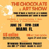CHOCOLATE AND ART SHOW - MIAMI -JUNE 26th, 2015
