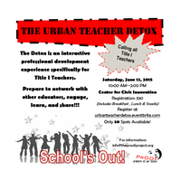 The Urban Teacher Detox