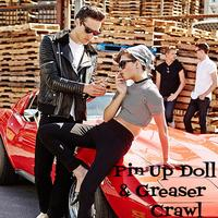 Pin Up Doll Greaser Crawl - Newport Beach