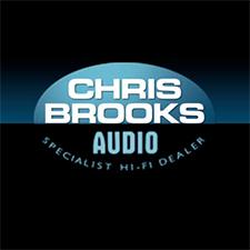 Chris Brooks Audio logo