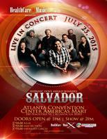 """""""SALVADOR""""  LIVE IN CONCERT"""