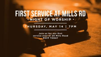 First Service At 20 Mills Road - Night of Worship