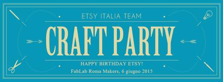 Happy Birthday Etsy Craft Party