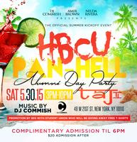 HBCU Pan-Hell Alumni Day Party