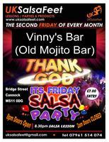 Thank God It's Friday Salsa Party